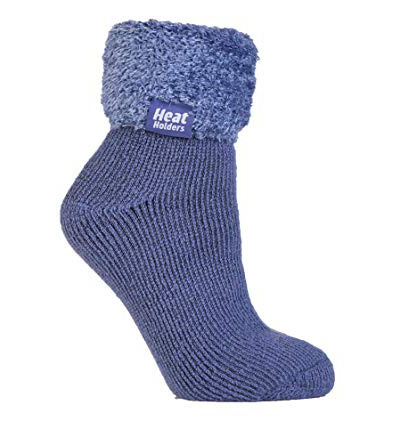 Ladies lounge socks 4-8 37-42 dark lavender