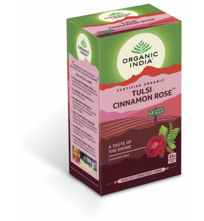 Tulsi cinnamon rose thee bio
