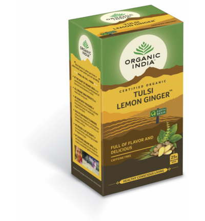 Organic India Tulsi lemon ginger thee bio 25st