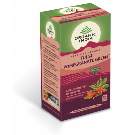 Tulsi pomegranate green thee bio