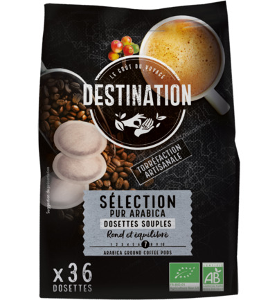 Koffie selection pads bio