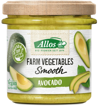 Farm vegetables smooth avocado