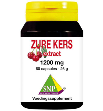 Zure kers extract 1200 mg
