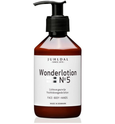 Wonderlotion No 5 met pomp