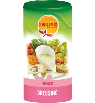 Salad dressing french glutenvrij