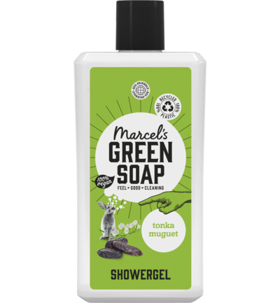 Shower gel tonka & muguet