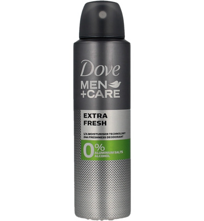 Men+ care deodorant spray clean comfort 0%