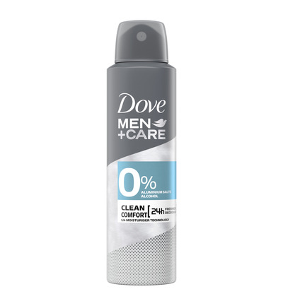 Men+ care deodorant spray extra fresh 0%