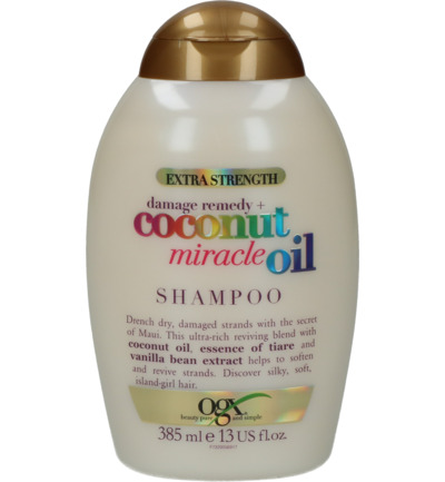 Shampoo strengthening damage remedy coconut