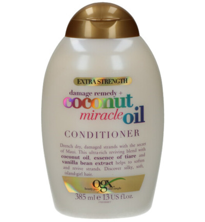 Conditioner strengthening damage repair coconut