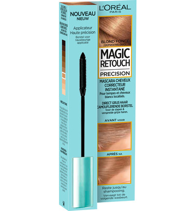 Precision mascara donkerblond