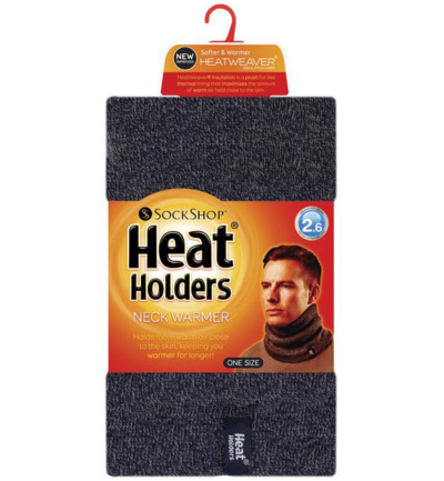 Mens neck warmer navy one size