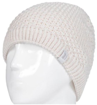 Ladies cable hat nora cream one size
