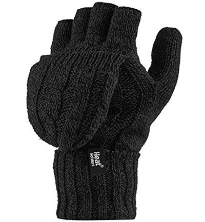 Ladies converter gloves black one size