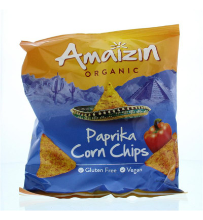 Corn chips bio paprika