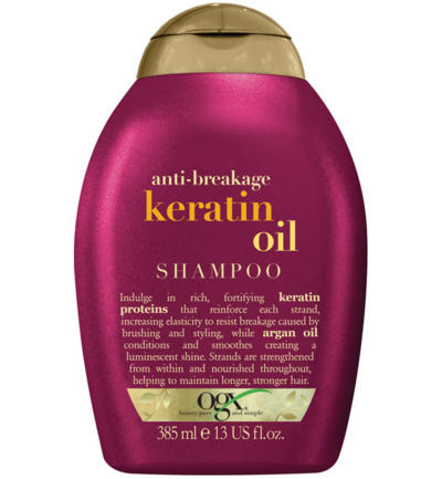 Shampoo anti breakage keratin