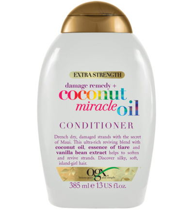 Conditioner extra str damage remedy coconut oil