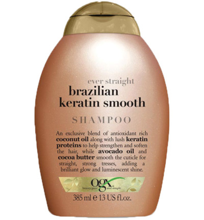 Shampoo ever straight keratin