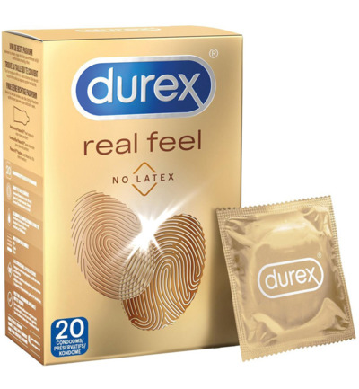 Durex Real Feel Condooms - 20 st.
