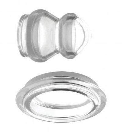 Clear Plungers Tepelzuigers - Large