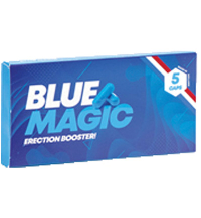 Blue Magic! Erectiepillen - 5 Stuks
