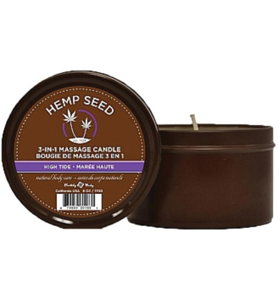 Hemp Seed Massage kaars - Lavendel