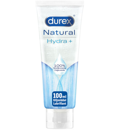 Durex Glijmiddel Natural Waterbasis - 100 ml