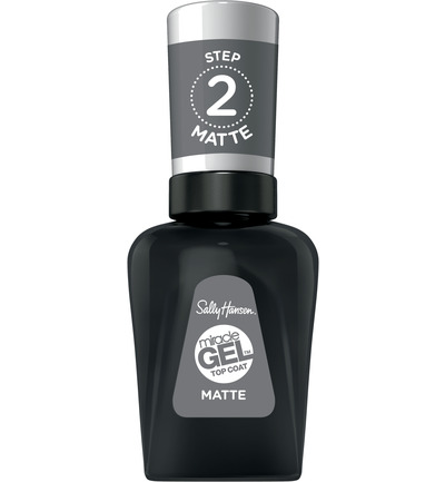 Miracle Gel Nagellak - 102 Matte Top Coat