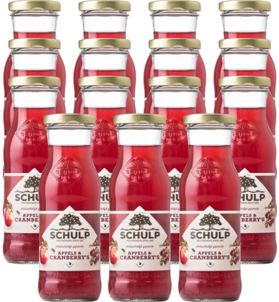 Appel & cranberry sap 15 pack