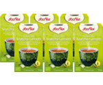 Green tea matcha lemon 6-pack