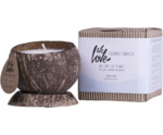 Coconut soy wax candle Arctic White