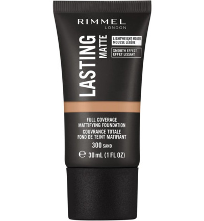 Lasting Finish Matte Liquid Foundation 300 Sand