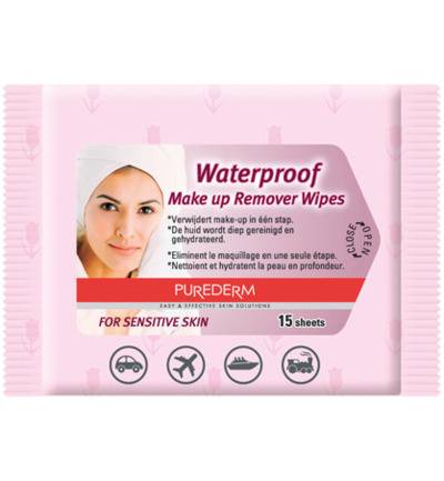 Image of Purederm Make Up Remover Wipes (15st)