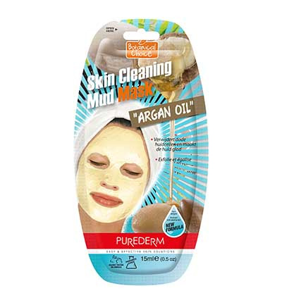 Image of Purederm Cleaning Mud Argan Mask (15ml)
