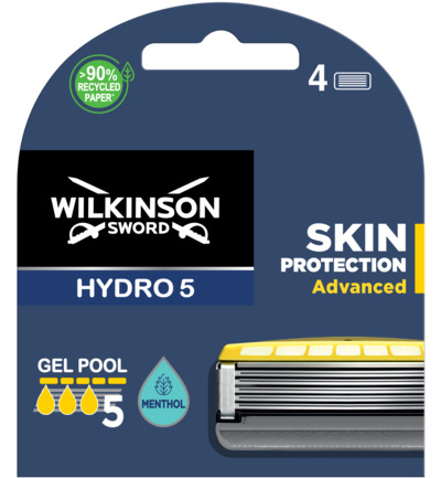 HYDRO 5 mesjes Skin Protection Advanced 4 pack