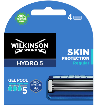 HYDRO 5 mesjes Skin Protection 4 pack