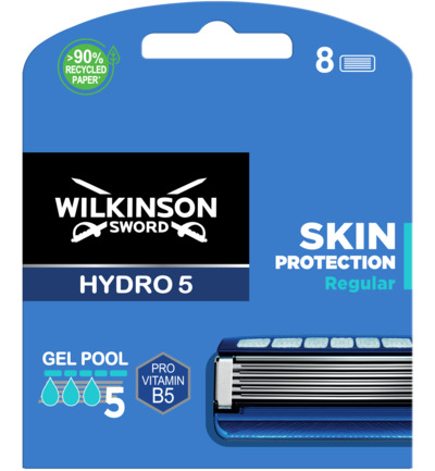 HYDRO 5 mesjes Skin Protection 8 pack