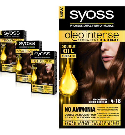 Color Oleo Intense 4-18 mokkabruin haarverf Trio