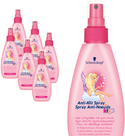 Anti-klit spray girl 6 pack