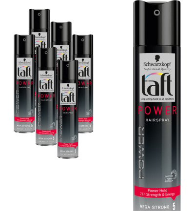 Level 5 Power Hairspray 6 pack