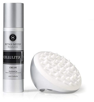 Anti Cellulitis Creme met Borstel