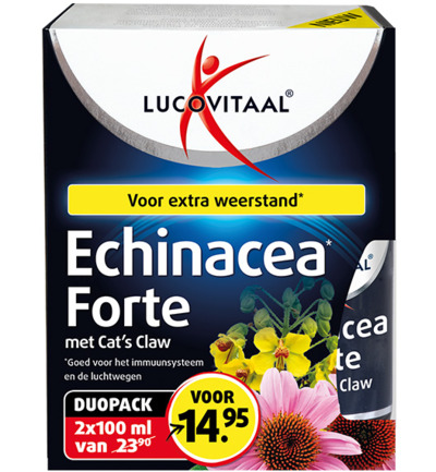 Echinacea Extra Forte + Cat's Claw