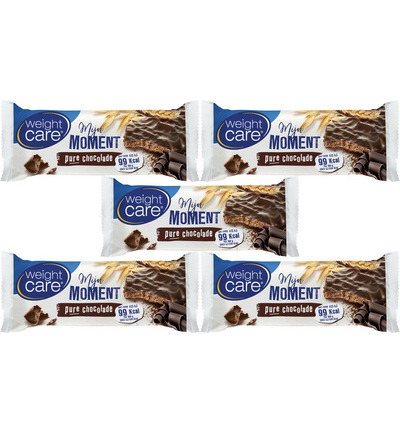 Mijn moment snackreep pure chocolade - 5 pack