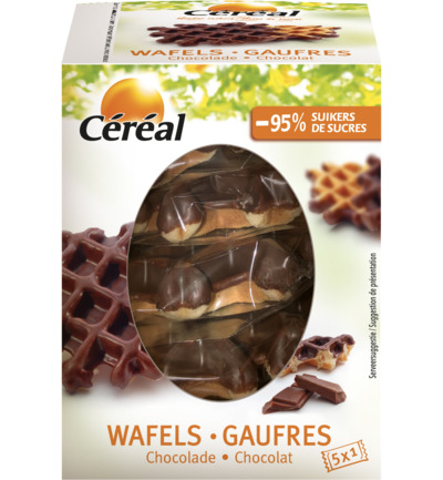 Wafels chocoladesmaak 150 gr