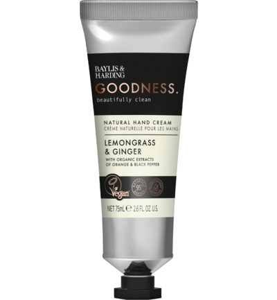 Hand Cream Goodness Lemongrass & Ginger