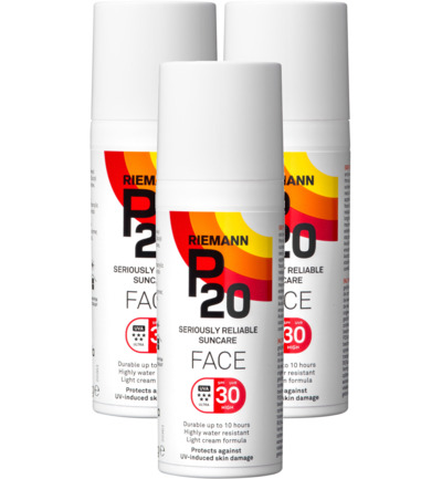 Once a day face creme SPF30 trio