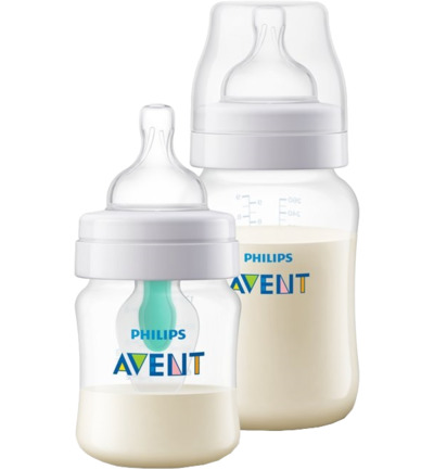 Anti-Colic Combi Drinkfles 125ml + 260ml