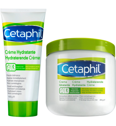 Hydraterende creme combi