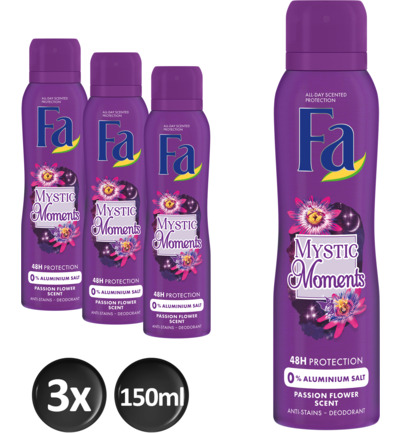 Mystic Moments deo spray trio