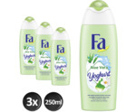 Yoghurt Aloe Vera shower cream trio